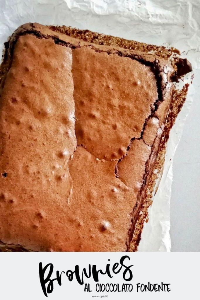 ricetta brownies al cioccolato fondente - dark chocolate brownies recipe - food photography - food styling - opsd blog