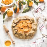 Clementine galette - Citrus galette - Galette alle clementine