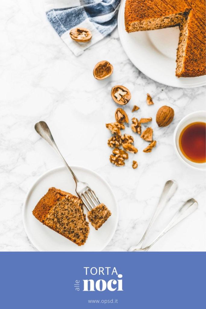 WALNUT AND ORANGE CAKE - WALNUT CAKE RECIPE - TORTA ALLE NOCI, ricetta facile e veloce - TORTA ALLE NOCI E ARANCE