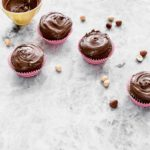 Cupcakes al cioccolato e birra Guinness, Cupcake al cioccolato ricetta, ricetta cupcakes al cioccolato e birra, Chocolate stout cupcakes recipe, Chocolate cupcake recipe, Chocolate cupcake