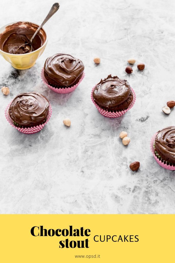 Chocolate stout cupcakes recipe, Chocolate cupcake recipe, Chocolate cupcake, homemade hazelnut spread recipe, homemade hazelnut chocolate spread recipe, homemade Nutella, Cupcakes al cioccolato e birra Guinness, Cupcake al cioccolato ricetta, ricetta cupcakes al cioccolato e birra, crema di nocciole fatta in casa, crema di nocciole homemade, crema di nocciole e cioccolato fatta in casa, crema di nocciole e cioccolato homemade, Nutella fatta in casa