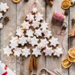 Zimtsterne, biscotti di natale alla cannella, Zimtsterne, German Cinnamon Star Cookies